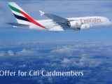 Enjoy 10% off Emirates airfares*, Exclusive offer for Citibank cardholders
