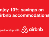 Exclusive privileges via Airbnb.com