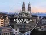 Enjoy up to 25% off* Hotel Discount at Swissotel, Zurich!