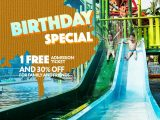 Celebrate your birthday with us and get yourself a FREE admission ticket