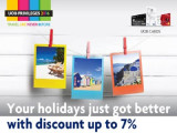 7% Off When You Book with Agoda using UOB Cards