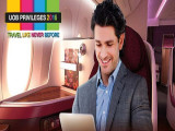 Enjoy 2 for 1 Business Class Air Tickets from Qatar Airways and UOB Cards