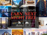 Stay 2 or 3 Nights Earn Next Night Free with CITIN Hotel Langkawi and Compass Hospitality
