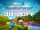 30% Off Tickets to KidZania Kuala Lumpur for a Limited Time Only!