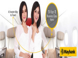1-For-1 Business Class Fares via Malindo Air with Maybank