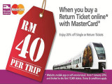 20% Discount to KLIA Ekspres Single and Return Tickets with Alliance Bank MasterCard