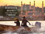 Discover Brunei from RM1,010 with Royal Brunei Airlines