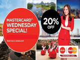 20% off Air Asia Every Wednesday with UOB MasterCard