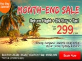 Month-End Sale at AirAsiaGo from RM299
