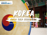 Early Bird Promotion to Seoul with Korean Air from RM1,458