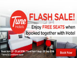 Book Together with Hotel and Get a FREE Seats from RM213