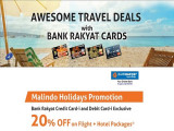 Bank Rakyat Awesome Travel Deals with Malindo Holidays