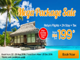 Pre Online Fair: Mega Package Sale from RM199 with AirAsiaGo