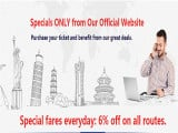 Special Fares Everyday: 6% Off on All Routes from Kuala Lumpur with Air China