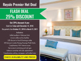 Get 25% Discount and More with The Royale Bintang Penang Royal Premier Hot Deal