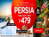 Discover Persia from RM479 with AirAsia