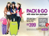 Pack & Go with Great Deals from Malindo Holidays