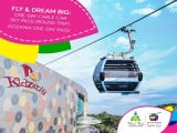 Save Up to 18% on Singapore Cable Car and KidZania's  Fly & Dream Big Promotion