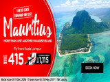 Fly to Mauritius on AirAsia from RM415