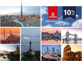 Fly Emirates & Enjoy 10% Off to All Destination* with Hong Leong Card