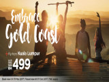 Embrace Gold Coast and Fly now with AirAsia from RM499