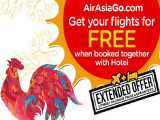 Get your Flights for FREE when Booked Together with Hotel via AirAsiaGo