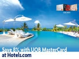 Get 8% Discount on Hotel Bookings via Hotels.com with UOB Cards