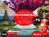 Travel and Discover Indonesia from RM75 with AirAsia