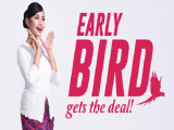 Early Bird Flight Offers from RM1 with Malindo Air