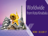 Promotional Fare from Kota Kinabalu to Europe and Around Asia