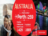 Discover Australia from RM259 with AirAsia