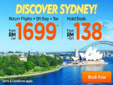 Discover Vivid Sydney with AirAsiaGo from RM1,699
