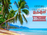 72 Hr Sale | Enjoy 20% Off Everything in Centara Hotels and Resorts