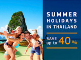 Enjoy 40% Off Room Rate this Summer in Centara Hotels & Resorts