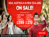 Asia, Australia & New Zealand on Sale from RM219 with AirAsia