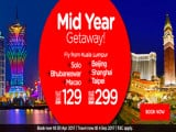 Mid-Year Getaway from RM129 with AirAsia