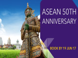 Thai Airways' Celebrates ASEAN 50th Anniversary with Flights from Malaysia