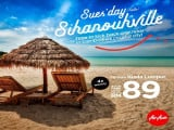 Fly to Cambodia and Discover Sihanoukville from RM89 with AirAsia