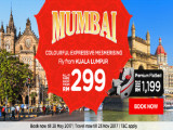Experience the Colourful Mumbai with AirAsia from RM299