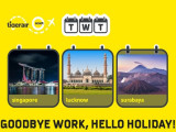 Goodbye Work, Hello Holiday! Travel this Season with Scoot from RM49