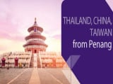 Penang Summer Flights to Thailand, China, Hong Kong & Taiwan with Thai Airways