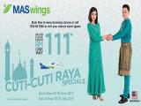 Cuti-Cuti Raya Specials on MASwings from RM111*
