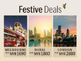 Festive Deals in Royal Brunei Airlines to Europe & Dubai