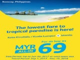 Travel to Manila from RM69 with Cebu Pacific Air