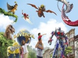 Universal Studios Singapore Adult One-Day Ticket + S$5 Meal Voucher + S$5 Retail Voucher at S$68 (U.P. S$86)