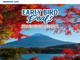 Early Bird Deals to Select Japan Destinations with Korean Air