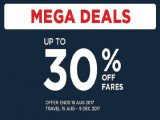 Up to 30% Off Mega Deals to Your Next Getaway with Malaysia Airlines