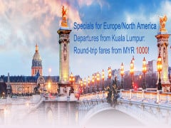 Fly to Europe & America with Air China from RM1,000