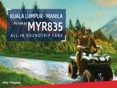 Travel to Manila from RM835 Return Fares with Philippine Airlines
