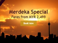 Merdeka Special Flight Fares from RM2,499 with Etihad Airways